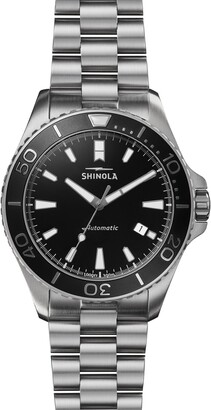 Shinola Monster Automatic Bracelet Watch, 43mm