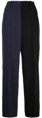 Givenchy Bicolor Straight Leg Pants
