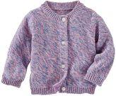 Osh Kosh Baby Girl Marled Cardigan