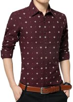 Dark Red Dress Shirts For Men - ShopStyle Canada