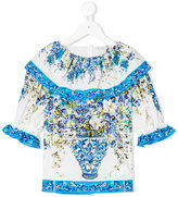 Dolce & Gabbana floral embroidered blouse