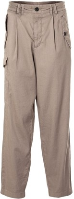 Giorgio Armani High-Waisted Tapered Trousers