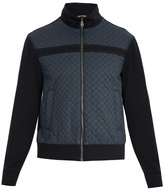 Bottega Veneta Quilted Cotton Bomber Jacket