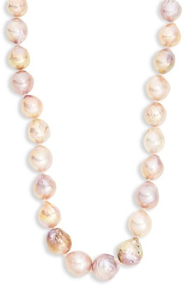 Tara Pearls Sterling Silver 11-13MM Baroque Freshwater Pearl Necklace