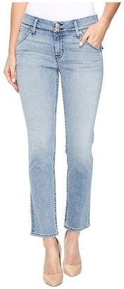 Hudson Women's Collin Midrise Crop Skinny Flap Pocket Jean
