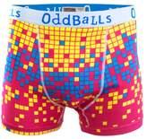 Oddballs Digital Rain Boxer Shorts - Magenta