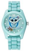 Xhilaration Women's Owl Character Analog Watch - Green