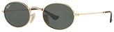 Ray-Ban RB3547N Oval Flat Lens Sunglasses