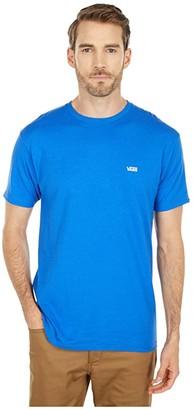 Vans Left Chest Logo Tee (Royal Blue) Men's Clothing