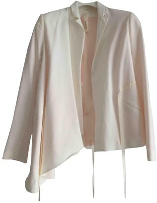 Anne Valerie Hash White Cotton Jackets