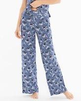 Soma Intimates Pajama Pants Bestowed Slate Blue