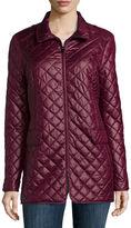 Liz Claiborne Short Quilted Coat