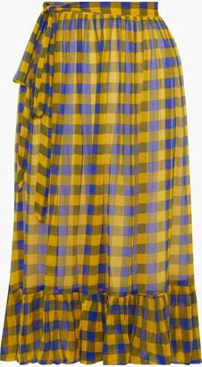 Baum und Pferdgarten Selda Gathered Printed Georgette Skirt