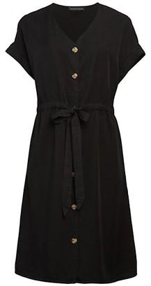 Saks Fifth Avenue Tie-Waist Shirtdress