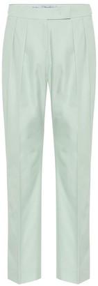 Max Mara Lucas cotton high-rise pants