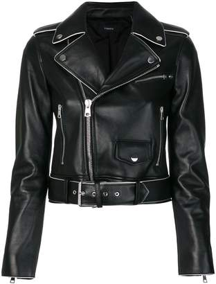 Theory short biker jacket
