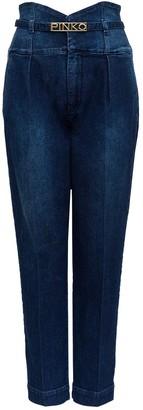 Pinko High Waist Denim Jeans
