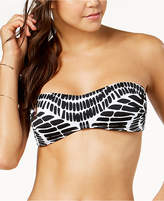 Bar III Kalediscope Printed Bandeau Bikini Top, Created for Macy's Women's Swimsuit