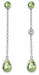 Noray Designs 14K Gold Pear Shape Gemstone & Diamond