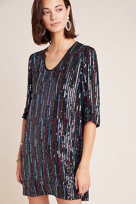 Velvet by Graham & Spencer Elisa Sequined Tunic By in Assorted Size S