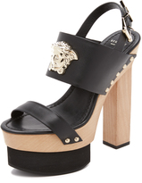 Versace Wedge Sandals