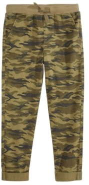 Epic Threads Little Boys Stretch Twill Camouflage Chino Pants, Created for Macy's