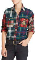Polo Ralph Lauren Bullion Plaid Cotton Button-Down Shirt