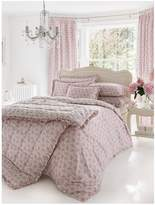 Dorma Mabel Duvet Cover Set - Dusky Pink