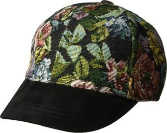 Betmar Women's Floral Baseball Cap
