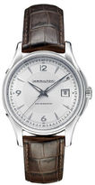 Hamilton Jazzmaster Viewmatic Leather Strap Watch