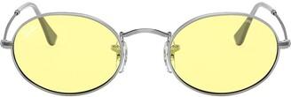 Ray-Ban Oval tinted sunglasses