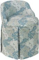 Skyline Furniture Addie Vanity Chair, Loiret Blue