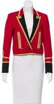 Saint Laurent Spencer Officer Embroidered Jacket