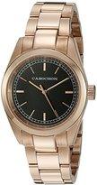 Cabochon Women's 517 De Ce Monde Analog Display Swiss Quartz Rose Gold Watch