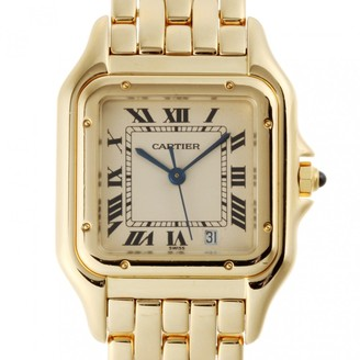 Cartier Panthere Silver Yellow gold Watches