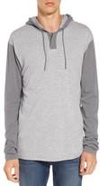 RVCA Men's Pick Up Hooded Henley Sweatshirt