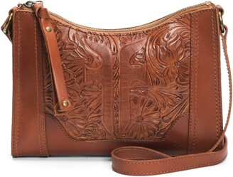 Frye Melissa Artisan Tooled Leather Crossbody Bag
