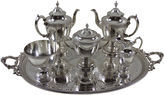 One Kings Lane Vintage 1860s Elkington Tea Set, 6-Pc