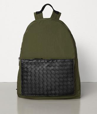 Bottega Veneta Medium Backpack In Light Paper Nylon