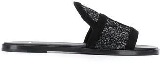 Pierre Hardy Frame slip-on sandals