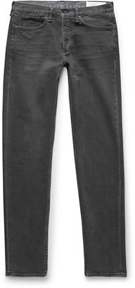 Rag & Bone Fit 2 Slim-Fit Organic Stretch-Denim Jeans