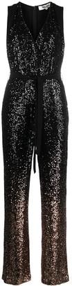 Diane von Furstenberg Eryn sequin-embellished jumpsuit