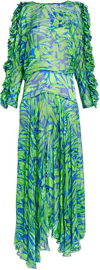 Preen by Thornton Bregazzi Karen Satin Devore Dress