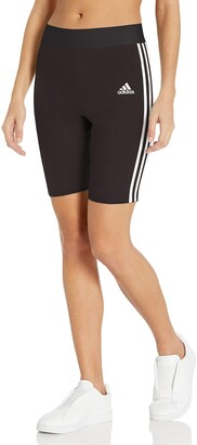 adidas Women's W Must Haves 3-Stripes Cotton Short Tights Shorts