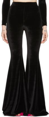 Vetements Black Evening Flared Lounge Pants