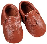Unique Baby Unisex Real Cow Leather Baby Moccasins Colors
