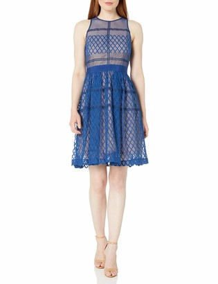 Donna Morgan Women's Sleeveless Midi Dress with Ful