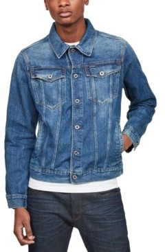 G Star Raw Men's 3301 Denim Trucker Jacket, Created for Macy's