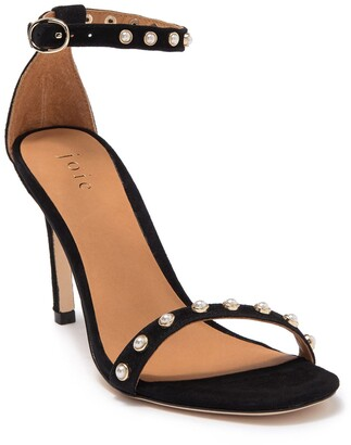Joie Alana Imitation Pearl Studded Stiletto Sandal