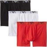 Emporio Armani Men's 3-Pack Cotton Boxer Briefs